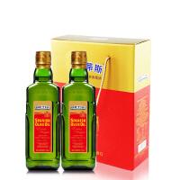 [当当自营]BETIS贝蒂斯 特级初榨橄榄油500mL*2 礼盒装
