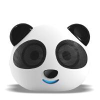 熊猫 DS-180可爱猫头数码便携小音箱 笔记本电脑音箱USB SD卡插口