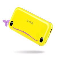 aigo月光宝盒Q100聚合物移动电源10000毫安大容量可爱充电宝超薄