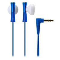 【全国大部分地区包邮哦!!】铁三角(Audio-technica) ATH-J100 BL 巧细小耳塞式耳机 时尚多彩 蓝色