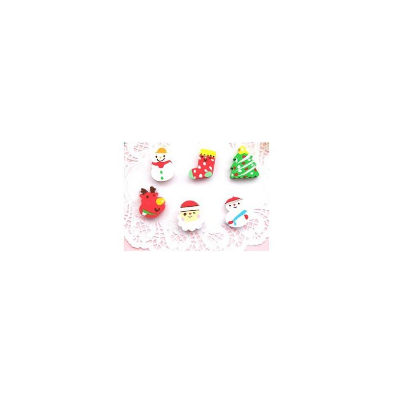 【韩版橡皮】圣诞节儿童橡皮