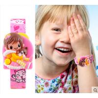 可爱童真女孩 创意儿童电子手表 手表个性新颖趣味小学生腕表