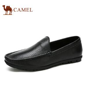 camel骆驼男鞋 日常休闲皮鞋春季男士休闲鞋