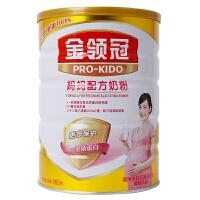 伊利金领冠妈妈配方孕妇奶粉900克罐装产妇妈妈牛奶粉