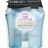 日本资生堂(Shiseido)丝蓓绮蓝椿洗发水500ml+护发素500ml 8975