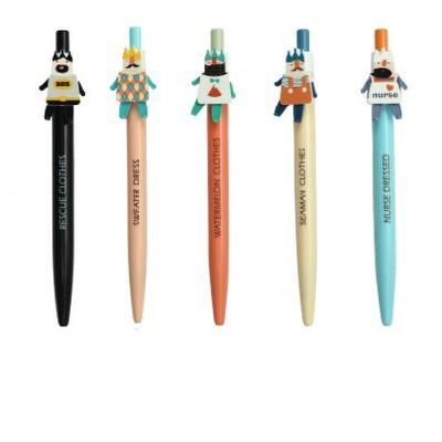 晨光文具 圆珠笔 百变大咖 abp20116 可爱圆珠笔 0.5 蓝