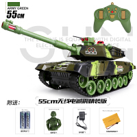 【满200-100】活石 儿童玩具仿真军事坦克模型 亲子多款同时对战遥控坦克汽车玩具节日礼物