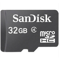 SanDisk 闪迪 32G  TF  Micro SD HC 存储卡 Class4 32GB