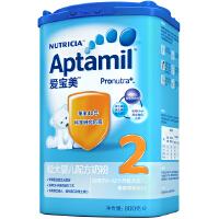 【当当自营】 德国原装进口Aptamil爱宝美较大婴儿配方奶粉2段(6-12个月)800g