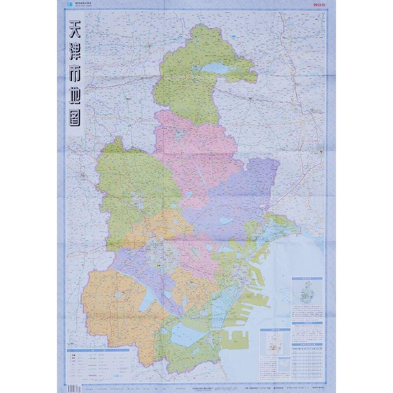 天津市地图 何慧 责任编辑;弓洁 美术编辑作 9787802127371