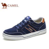 camel骆驼男鞋 板鞋男反绒牛皮潮鞋男士休闲鞋舒适