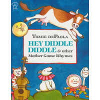 Hey Diddle Diddle & Other Mother Goose Rhymes鹅妈妈的其他童谣(Tomie dePaola绘本)ISBN9780698116405