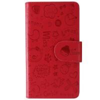ikodoo爱酷多 三星Samsung i9300手机套 i9308手机壳 小可爱保护套 大红