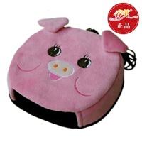 春笑 USB暖手鼠标垫/保暖发热鼠标垫 加热 USB暖手宝 带护腕(粉猪)T2103
