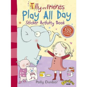 Tilly and Friends: Play All Day Sticker Activity Book    ISBN:9781406349887