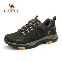 camel骆驼男鞋 户外运动网布鞋 秋季新款耐磨防滑登山徒步鞋
