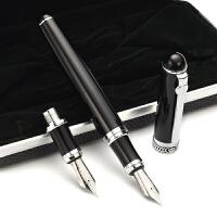 德国公爵D2钢笔【双笔头/两用笔】弯尖美工书法笔头弯头笔