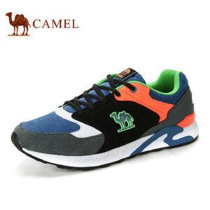 camel骆驼运动鞋 新款 户外运动男女情侣款透气网布运动鞋