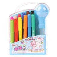智高 kk喷喷笔 12色绘画水彩笔模具套装儿童无毒益智玩具