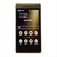 (SAMSUNG) W2015/ 电信4G双网双待双屏商务手机 翻盖手机黄金版 白金版至尊版 四核2.5GHz 3.9英寸 2GB RAM 1600万像素