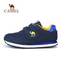 camel骆驼童鞋中童运动鞋儿童魔术贴耐磨运动休闲鞋跑步鞋