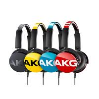 AKG/爱科技 y50 耳机头戴式 音乐线控麦克风耳麦 时尚便携 Y系列 可通话HIFI音质耳机