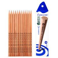 马可MARCO 原木色不易断铅笔 书写学生铅笔套装 6001