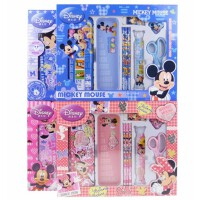 迪士尼 文具大礼盒 儿童学习用品套装 米奇卡通Z6972