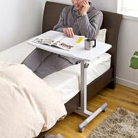 【品牌直供】日本SANWA 100-DESK044 懒人床边笔记本电脑桌台式家用床上用简易书桌简约折叠移动小桌子