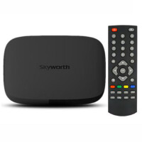 Skyworth/创维 A11四核 网络电视机顶盒子安卓高清无线硬盘播放器 黑色