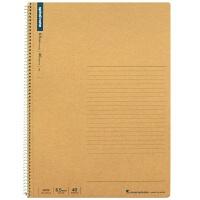 日本maruman美乐麦 spiral 牛皮纸封面螺旋笔记本 记事本A4 40页