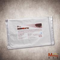 美乐臣55% 黑巧克力砖 纯可可脂 1000克