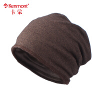 女士护耳堆堆帽包头帽头巾帽针织帽子 女 帽子针织帽 男2344