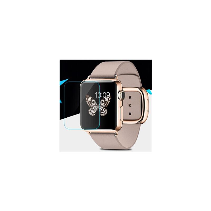 手表玻璃膜 苹果apple watch钢化膜 iwatch防爆防摔贴膜 苹果手表钢化