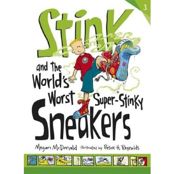 Stink and the World's Worst Super-Stinky Sneakers    ISBN:9781406347067