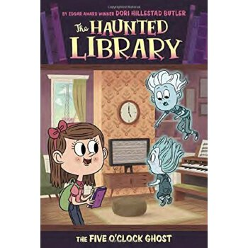 The Haunted Library #4: The Five O'Clock Ghost    ISBN:9780448462486