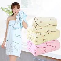 【支持礼品卡】毛巾浴巾三件套 高梳纱吸水不掉毛 情侣套装