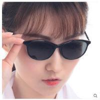 韩版简约超轻时尚舒适圆防辐射黑框偏光镜配眼睛近视太阳眼镜女款眼镜架男全框支持礼品卡支付