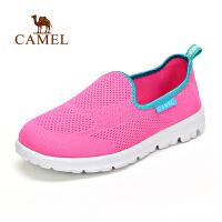 新品 CAMEL骆驼户外情侣款徒步鞋 透气休闲耐磨徒步鞋