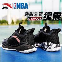 安踏篮球鞋男鞋2017新款运动鞋防滑缓震科技低帮球鞋战靴11741316