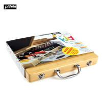 法国贝碧欧Pebeo儿童绘画颜料组合套装 丙烯油画棒套装374798C