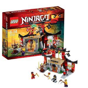 [当当自营]LEGO 乐高 NINJAGO幻影忍者系列 大战忍术训练场 积木拼插儿童益智玩具 70756