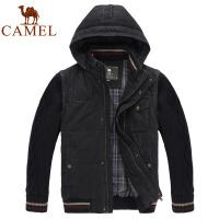 CAMEL骆驼 男装户外秋冬新品 带帽男款休闲棉服 2F15339