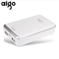 【当当特惠+聚合物12000毫安】 Aigo 移动电源大容量FB12000 移动电源 三星苹果小米手机充电宝超薄 公司出品