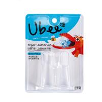 幼蓓Ubee 婴儿牙刷宝宝婴幼儿硅胶手指套牙刷软毛训练儿童乳牙刷