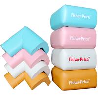 【当当自营】费雪(Fisher Price)玩具 儿童防护产品四合一 宝宝安全防撞角防撞条(蓝粉木白 四款)F1718