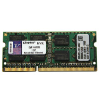 金士顿(Kingston)DDR3 1600 8G 笔记本内存 速度与稳定  1.35V低电压产品,可降低发热,增强寿命和稳定性