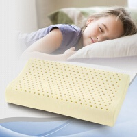 Aisleep睡眠博士 乳胶青少年枕 乳胶学生枕 乳胶儿童枕 适合7-15-16岁 护颈枕头加长款  护颈枕芯
