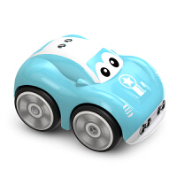 遥控车悍马越野车摇控警车公安车 漂移遥控汽车模型 儿童男孩玩具车 兰博基尼1比24(颜色随机)