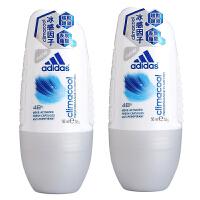 阿迪达斯(Adidas) 女士走珠香水香体止汗露液滚珠50ml